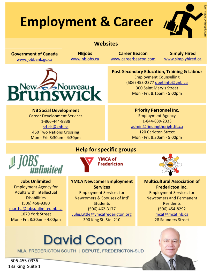 Employment Resources Infographic