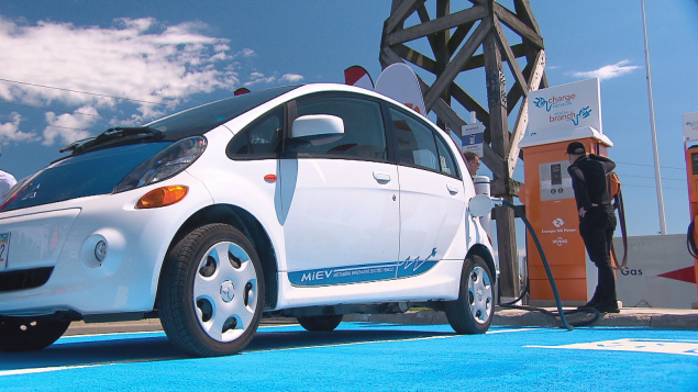 N.B. hopes new charging stations will encourage electric vehicle purchases – CTV News – 6 July 2017