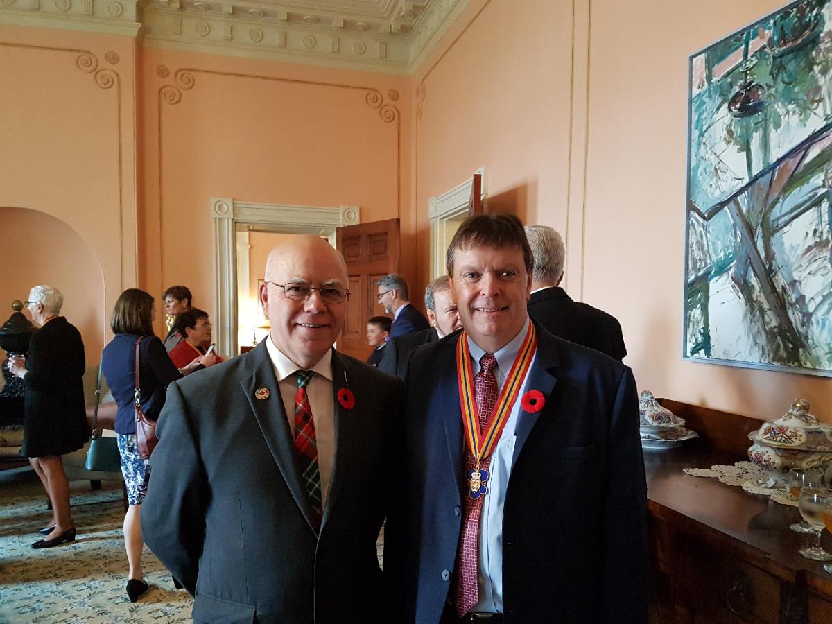 Chef du parti Vert félicite les récipiendaires de l'Ordre du Nouveau-Brunswick 2019